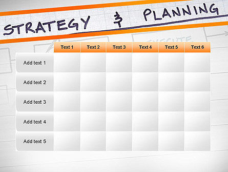 Strategy and Planning Flowchart Theme PowerPoint Template Slide 15