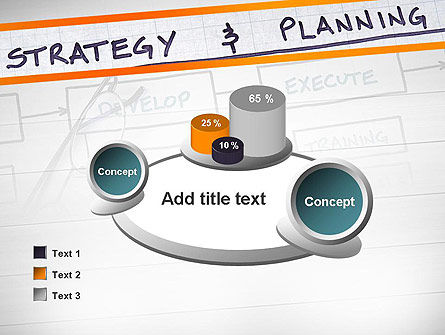Strategy and Planning Flowchart Theme PowerPoint Template Slide 16