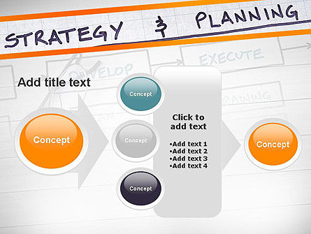 Strategy and Planning Flowchart Theme PowerPoint Template Slide 17