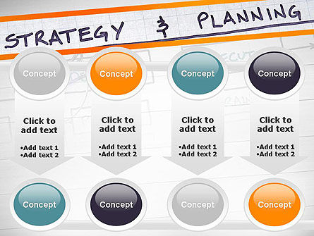 Strategy and Planning Flowchart Theme PowerPoint Template Slide 18