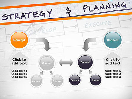 Strategy and Planning Flowchart Theme PowerPoint Template Slide 19