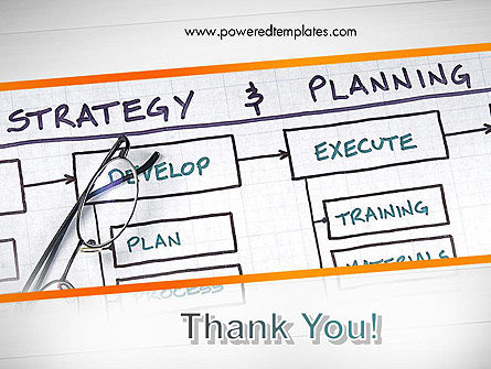 Strategy and Planning Flowchart Theme PowerPoint Template Slide 20