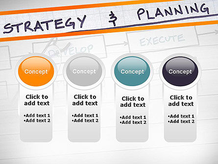 Strategy and Planning Flowchart Theme PowerPoint Template Slide 5