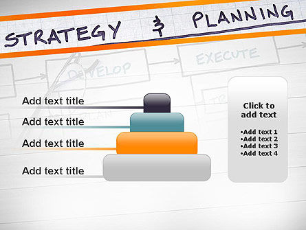 Strategy and Planning Flowchart Theme PowerPoint Template Slide 8