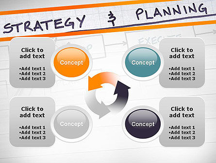 Strategy and Planning Flowchart Theme PowerPoint Template Slide 9