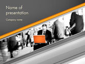 Business Concepts: Sense of Urgency PowerPoint Template #11743
