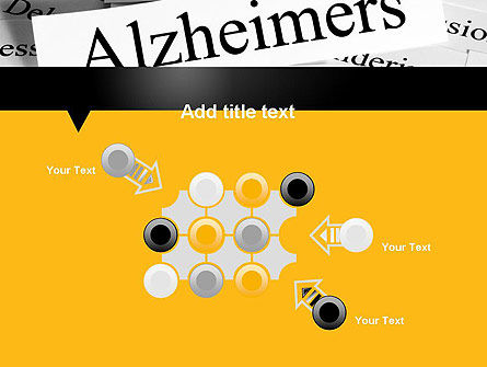 Alzheimer's Disease PowerPoint Template Slide 10
