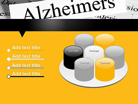 Alzheimer's Disease PowerPoint Template Slide 12
