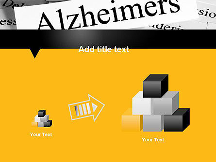 Alzheimer's Disease PowerPoint Template Slide 13
