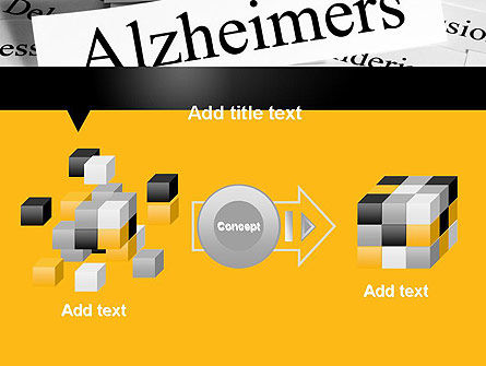 Alzheimer's Disease PowerPoint Template Slide 17
