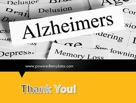 Alzheimer's Disease PowerPoint Template Slide 20