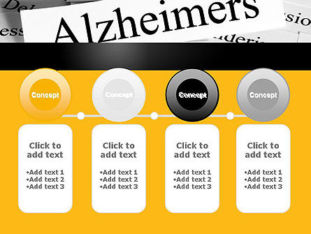 Alzheimer's Disease PowerPoint Template Slide 5