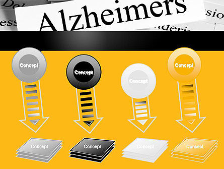 Alzheimer's Disease PowerPoint Template Slide 8