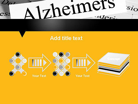 Alzheimer's Disease PowerPoint Template Slide 9