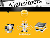 Alzheimer's Disease PowerPoint Template#19
