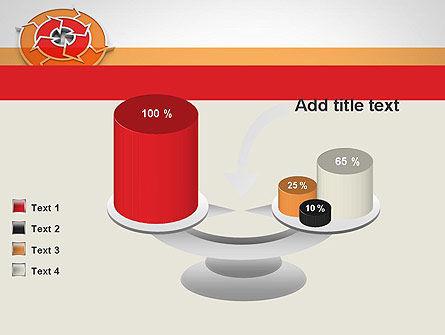 Circular Flow Diagram PowerPoint Template Slide 10