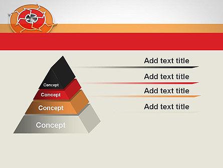 Circular Flow Diagram PowerPoint Template Slide 12