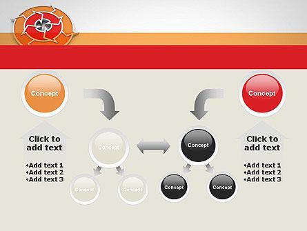 Circular Flow Diagram PowerPoint Template Slide 19