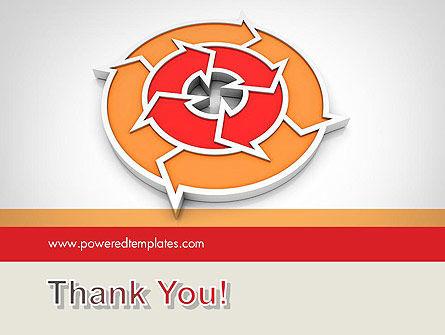 Circular Flow Diagram PowerPoint Template Slide 20