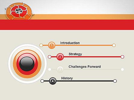 Circular Flow Diagram PowerPoint Template Slide 3