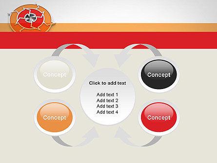 Circular Flow Diagram PowerPoint Template Slide 6