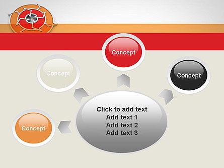 Circular Flow Diagram PowerPoint Template Slide 7