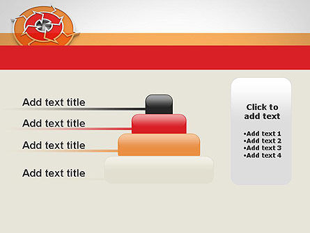 Circular Flow Diagram PowerPoint Template Slide 8