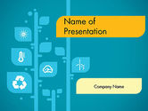 Nature & Environment: Ecology Tree PowerPoint Template #11746