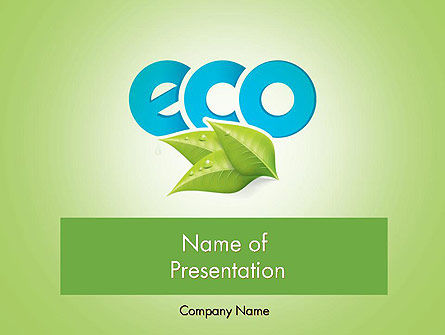 Nature & Environment: Modelo do PowerPoint - ecologia conceito #11747