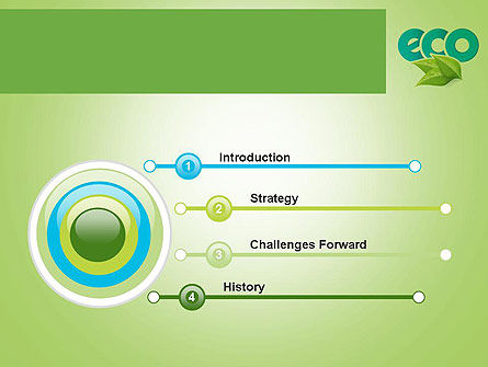 Ecology Concept PowerPoint Template, Slide 3, 11747, Nature & Environment — PoweredTemplate.com