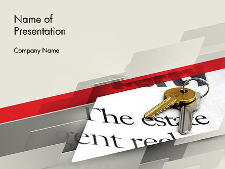 Estate Theme PowerPoint Template, 11751, Real Estate — PoweredTemplate.com