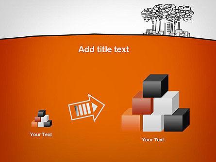Factory Sketch PowerPoint Template Slide 13