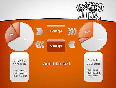 Factory Sketch PowerPoint Template Slide 16