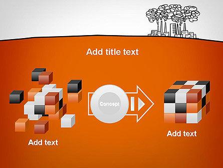 Factory Sketch PowerPoint Template Slide 17