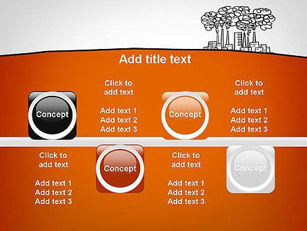 Factory Sketch PowerPoint Template Slide 18