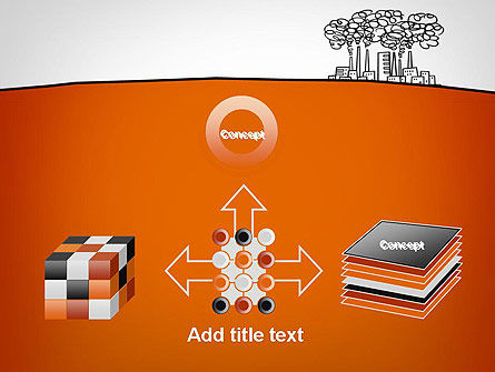 Factory Sketch PowerPoint Template Slide 19