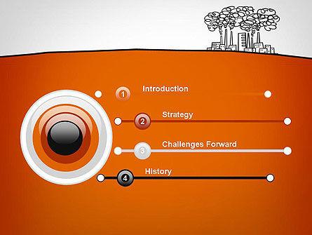 Factory Sketch PowerPoint Template, Slide 3, 11754, Utilities/Industrial — PoweredTemplate.com