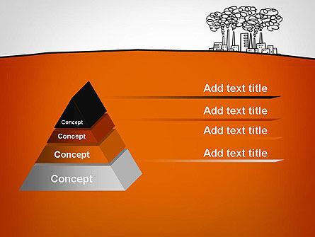 Factory Sketch PowerPoint Template, Slide 4, 11754, Utilities/Industrial — PoweredTemplate.com