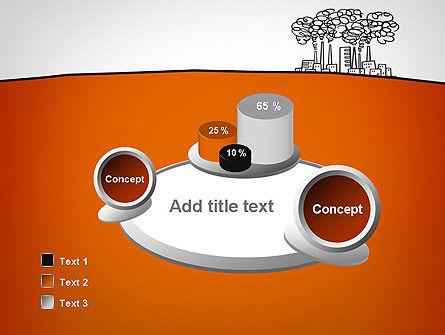 Factory Sketch PowerPoint Template Slide 6
