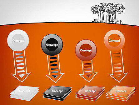 Factory Sketch PowerPoint Template Slide 8