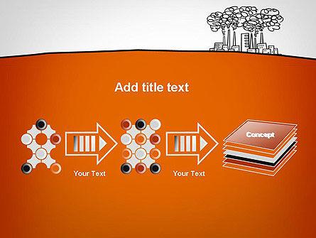 Factory Sketch PowerPoint Template Slide 9