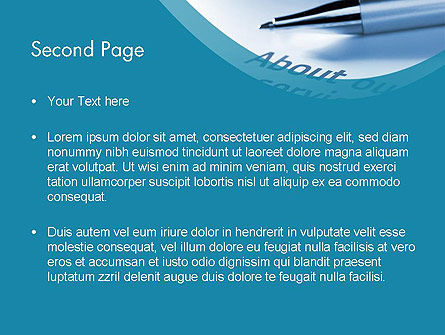 Our Services PowerPoint Template, Slide 2, 11755, Business Concepts — PoweredTemplate.com