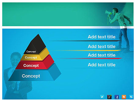 PR Company Presentation PowerPoint Template Slide 12