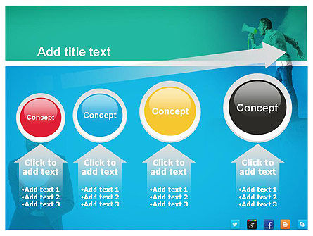 PR Company Presentation PowerPoint Template Slide 13