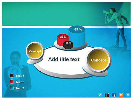 PR Company Presentation PowerPoint Template Slide 16