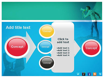 PR Company Presentation PowerPoint Template Slide 17