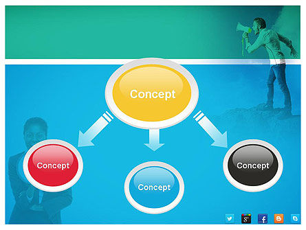 PR Company Presentation PowerPoint Template Slide 4