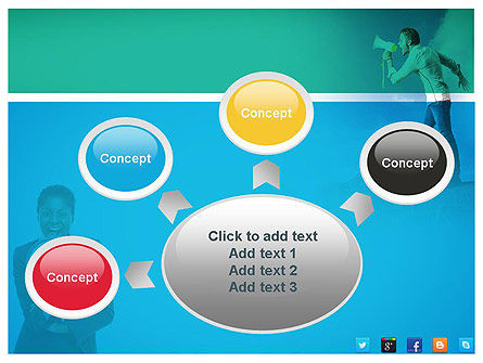 PR Company Presentation PowerPoint Template Slide 7