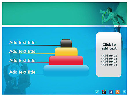 PR Company Presentation PowerPoint Template Slide 8