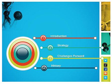 Workout Plan PowerPoint Template, Slide 3, 11758, Health and Recreation — PoweredTemplate.com